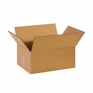 Box Usa B14106 Corrugated Boxes 14 X 10 X 6 Kraft pack Of 25 Free Shipping