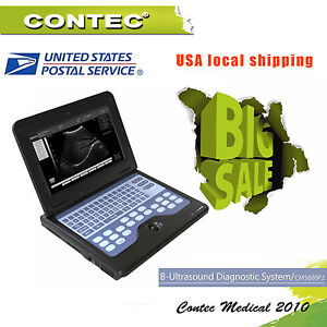 Us Seller Contec Digital Smart Laptop Nootbook B ultrasound Scanner Convex Probe