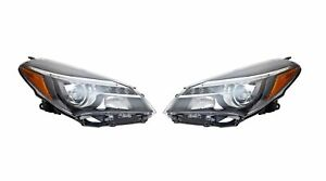 For 2015 2017 Toyota Yaris Se Hatchback Headlight W led Drl Driver