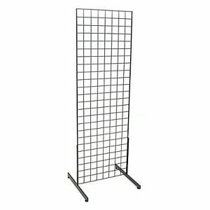 Grid Unit Tall Merchandise Display Clothing Boutiqe Wall Wire Rack Flea Market