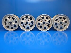 Porsche 914 Oem Original Set Of Fuchs Wheels Rims 15x5 5 Et40 91436101101
