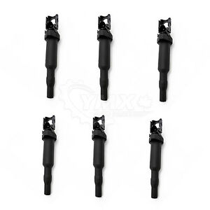 New Ignition Coil Set Of 6 W Spark Plug Connector For Bmw E60 E90 12138616153