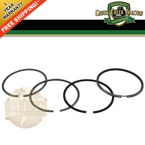 Djpn6149e New Ford Tractor Ring Set 4 4 Turbo Std For Diesel Engines