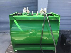 Fuel Storage Tank Portable 2 X 100 Gallons With Pump Kits