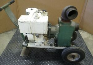 Teel Dayton Electric Centrifugal Water Pump Model 3p582b 3 Discharge With Brig