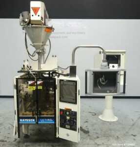 Used Hayssen Model Ultima Coffee Max Vertical Form Fill And Seal Machine With A