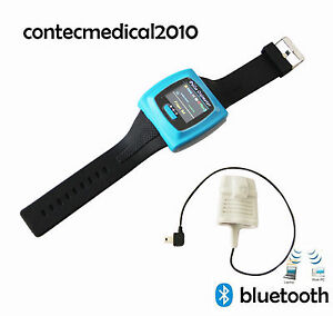 24h Wrist Oled Pulse Rate Oximeter pc Software Spo2 Blood Oxygen Bluetooth