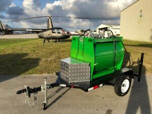 Fuel Trailer 2 X100 Gallon Street Legal
