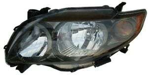 Headlight Assembly Left Dorman 1592077 Fits 09 10 Toyota Corolla