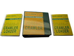 John Deere Jd450 c Crawler Dozer Bulldozer Technical Service Repair Manual Set