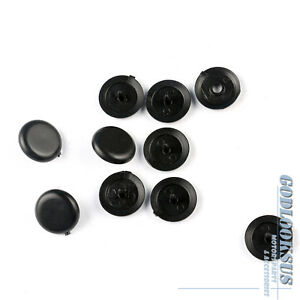 5sets Seat Belt Stop Button Stopper Universal For Audi Bmw Ford Opel Mb Vw