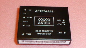 1pc Astec Aet02aa48 Ic Dc dc Converter Input 48v Current 1 65a Output 5v