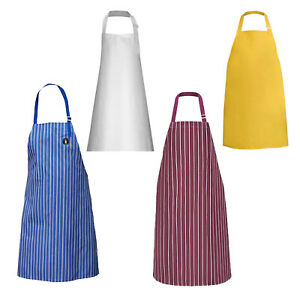 Heavy Duty Waterproof Chef Apron Kitchen Butcher Cooking Bbq Catering Unisex