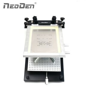 Frame Type Smt Screen Printer For 260 360mm Pcb Assembly Line