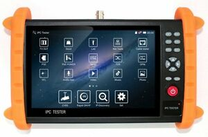 Gxa 7 Inch Touch Screen 1080p Hdmi Ip cvbs Camera Tester Cctv Tester Test Poe Tf