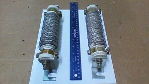 2 Cutler Hammer G3ap860 Porcelain Base Wire Wound Power Resistors 8 8 Ohm