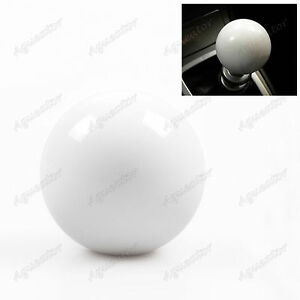 Gumball Shift Knob For Hurst Short Throw Gear Shifter Selector M10 X 1 25 White