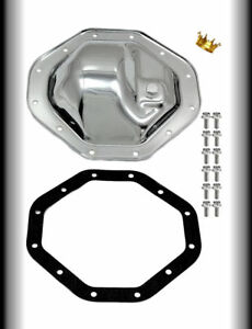 Chrome Dodge Ram Durango Dakota Rear End Differential Cover Gasket And Bolts