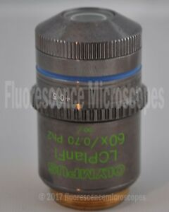 Olympus Lcplanfl 60x 0 70 Infinity Ph2 Lwd Microscope Objective Lens