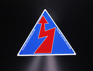 Battery Safety Printed Racing Track Race Vinyl Sticker Decal