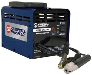 Stick Welder Amp Welding Machine Thermal Protection Campbell Hausfeld 115 volt