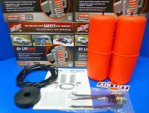 Air Lift 60818 1000 Rear Air Spring Suspension Kit Leveling Kit Dodge Ram 1500
