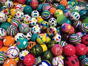 6000 Premium Quality One Inch 27mm Super Bounce Bouncy Balls 1 Exclusive Mix