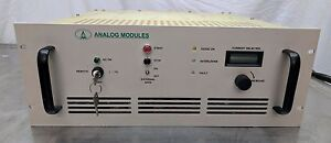 Analog Modules High Power Laser Diode Driver Up To 110v 60a And 6 6kw Coherent