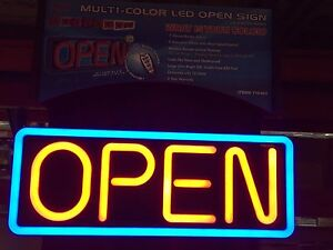 Pro lite Neon Multicolor Led Open Sign