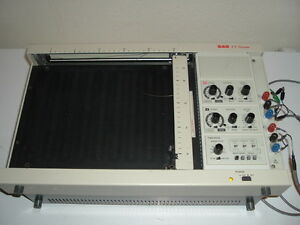 Bas Bioanalytical Systems X y Chart Recorder Model Rxyt