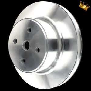 Billet Big Block Chevy Water Pump Pulley Long 2 Groove Wp 396 427 454