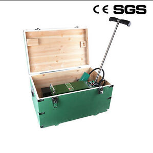 Plastic Poofing Welder Automatic Hot Air Seam Welding Machine With Wooden Case