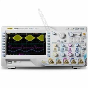 Rigol Digital Oscilloscope Ds4012 4gsa s 100mhz 140mpts 110 000 Wfms s 2 Channel