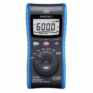 Digital Multimeter Hioki Dt4221 Pocket sized Dmm New Iy