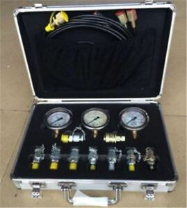Digital Hydraulic Pressure Test For Excavator