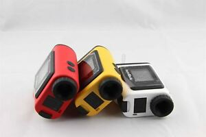 600m Lcd Golf Laser Rangefinder Green Coating Distance Measurement Brand New Pc