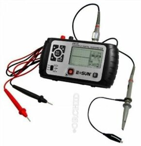 Mini Oscilloscope Handheld Digital Scopemeter Pocket size 25mhz Multimeter Em Ba