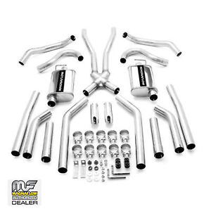 Magnaflow Crossmember Back Dual Exhaust System 1968 1973 Chevelle With Muffler