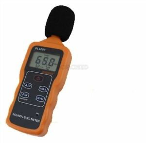 Sl4200 Digital Sound Level Meter Noise Level Meter Tester Usb Sound Level Met Qa