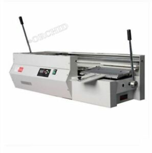 Dc 40tsemi automatic Swaktop Perfect Binding Machine glue Book Binding Machin Ca