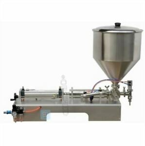 Liquid And Paste Filling Machine 5 100ml For Cream Shampoo cosmetic tooth Paste