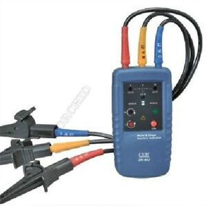 Cem Dt 902 Motor Three 3 Phase Rotation Indicator Tester 1 400v Ac Catiii 6 Wc