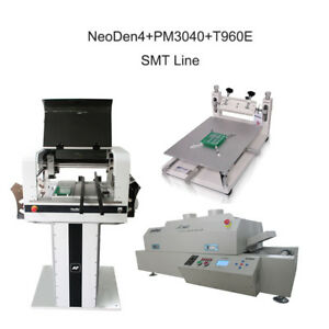Neoden4 Prototype Pick And Place Machine For Smt Production Line 27 Feeders ew