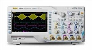 2 Channel Rigol Digital Oscilloscope Ds4012 4gsa s 100mhz 140mpts 110000 Wfms s
