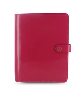 New Filofax A5 Original Organiser Planner Notebook Diary Fuchsia Leather 022440