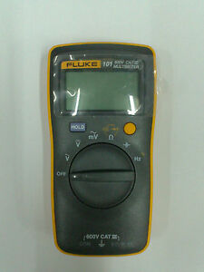 Fluke101 Palm sized Digital Multimeter F101 Meter english Logo