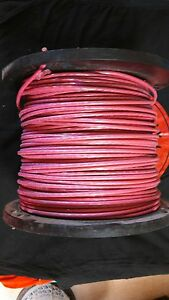 500 Ft 8 Gauge Red Stranded Copper Wire 600 Volt Thhn Or Thwn 2 Made In Usa