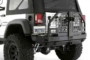 Smittybilt 07 18 Fits Jeep Wrangler Jk Xrc Atlas Rear Bumper With Tire Carrier