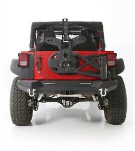 Smittybilt 2007 2018 Fits Jeep Wrangler Jk Xrc Gen2 Bolt On Tire Carrier 76857