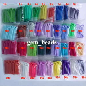 36 Color For Choose Dental Orthodontic Ligature Ties 1040pcs pack